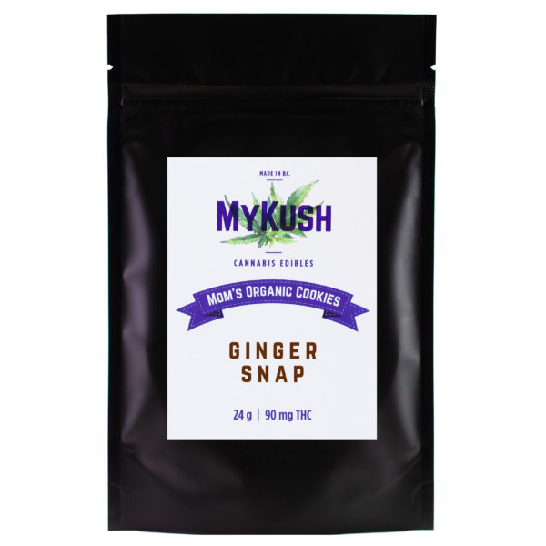 Mom's Organic Cannabis Cookies - Ginger Snap